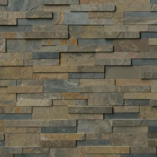 Rustic Gold Ledger Panel 6x18x6 Corner