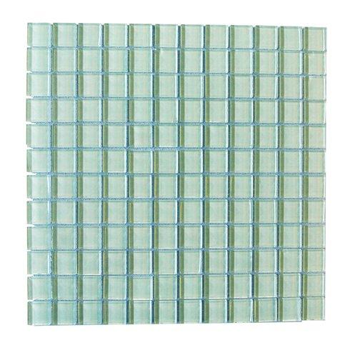 Metro Arctic 1x1 Glass Mosaic