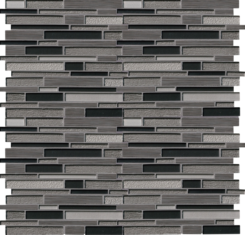 Metro Gris Interlocking Blend Mosaic