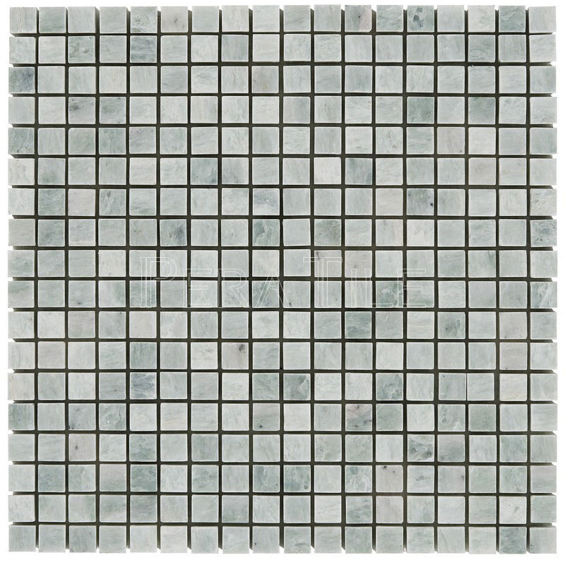 Ming Green 5/8x5/8 Polished Marble Mosaic