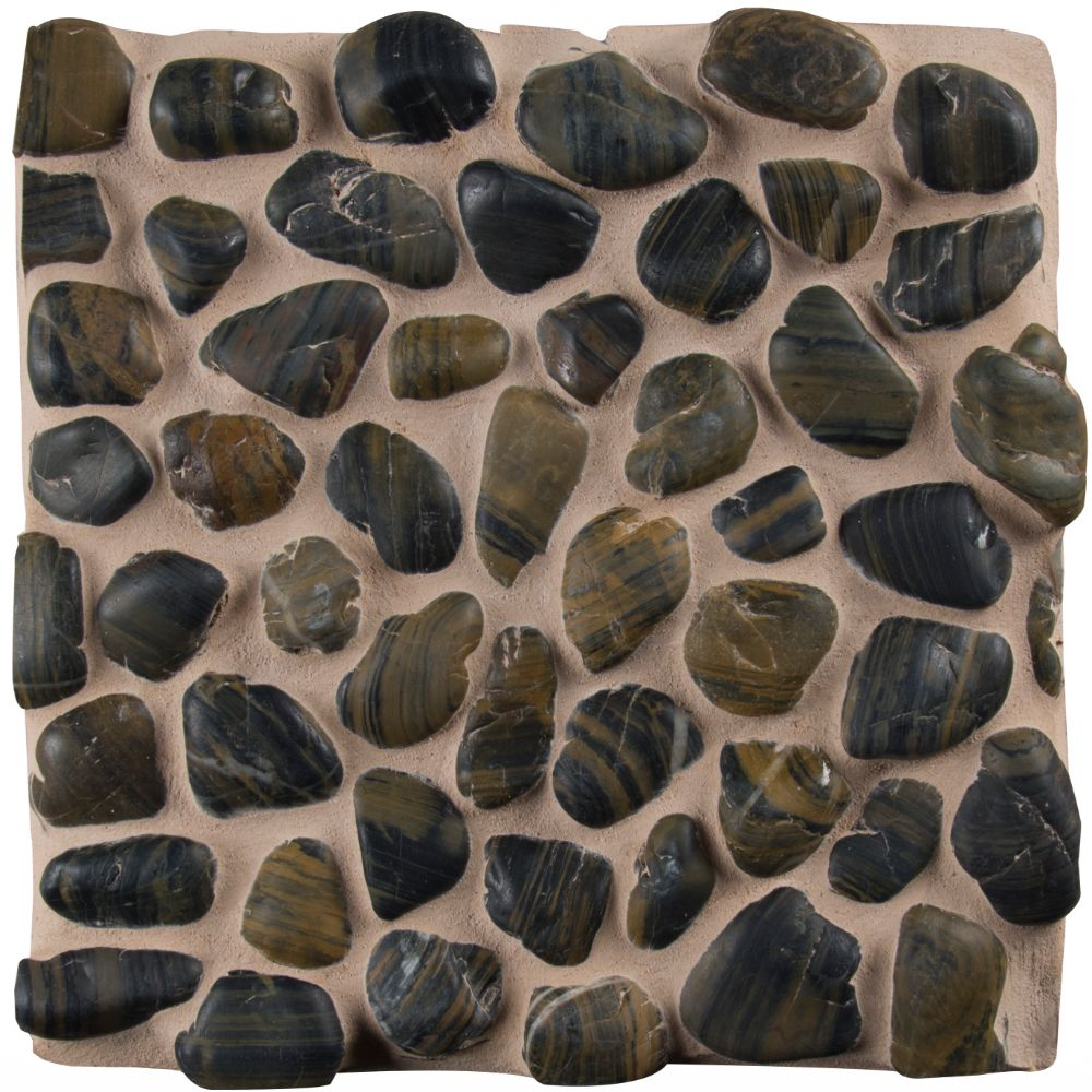 Mixed Pebbles 12X12 Polished