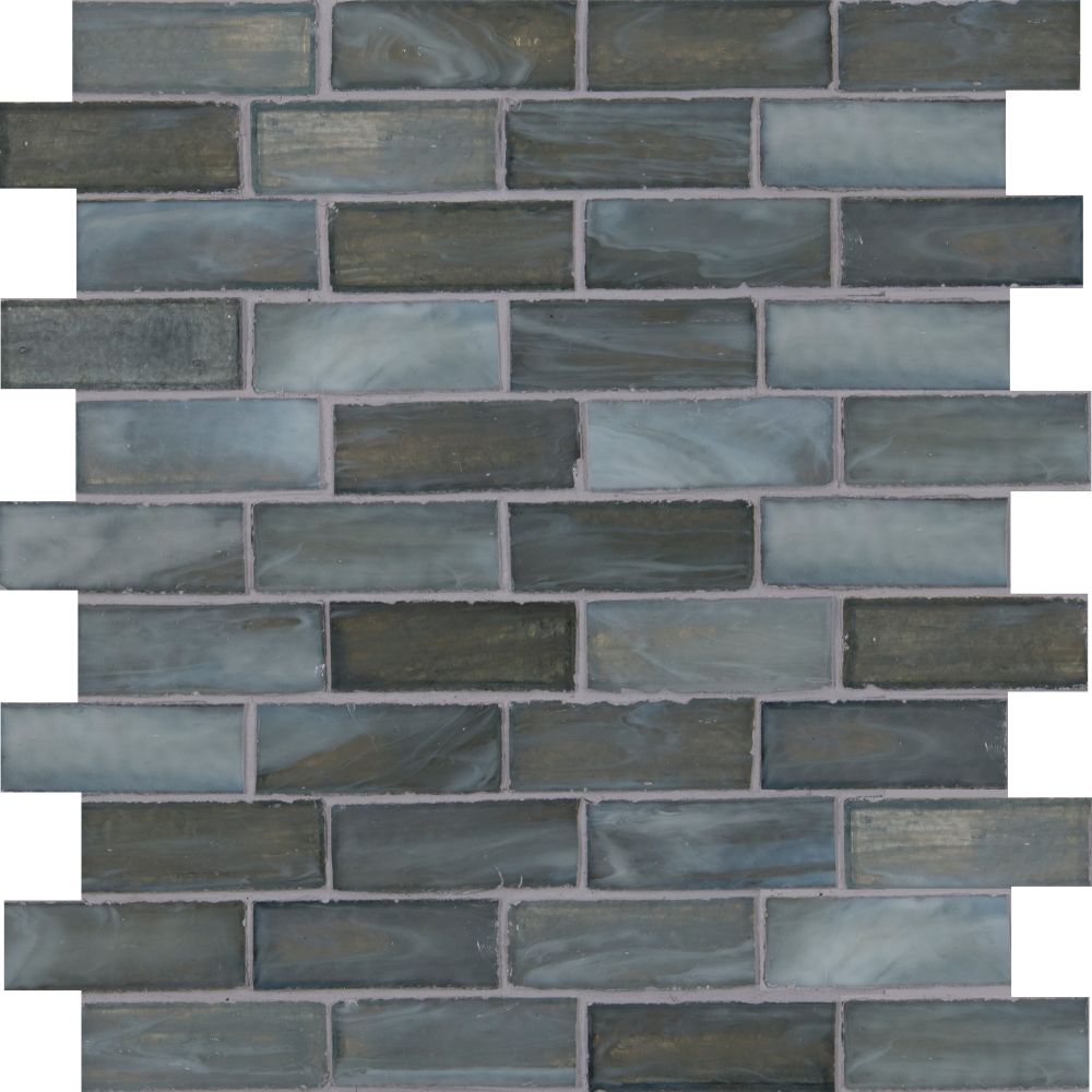 Oceano Brick 1x3 Brick Glass Mosaic