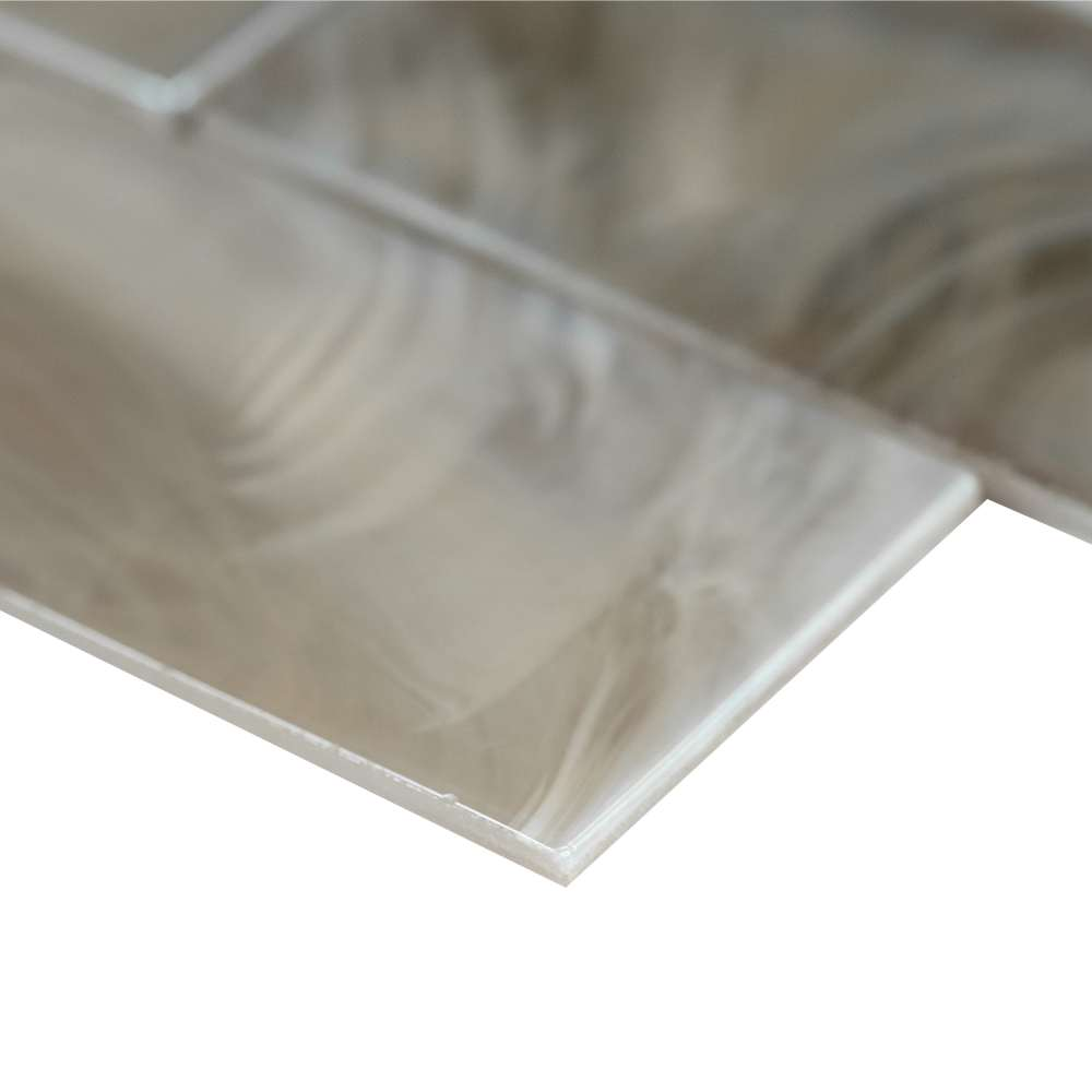 Opalina 2X6 Glossy Glass Subway Tile