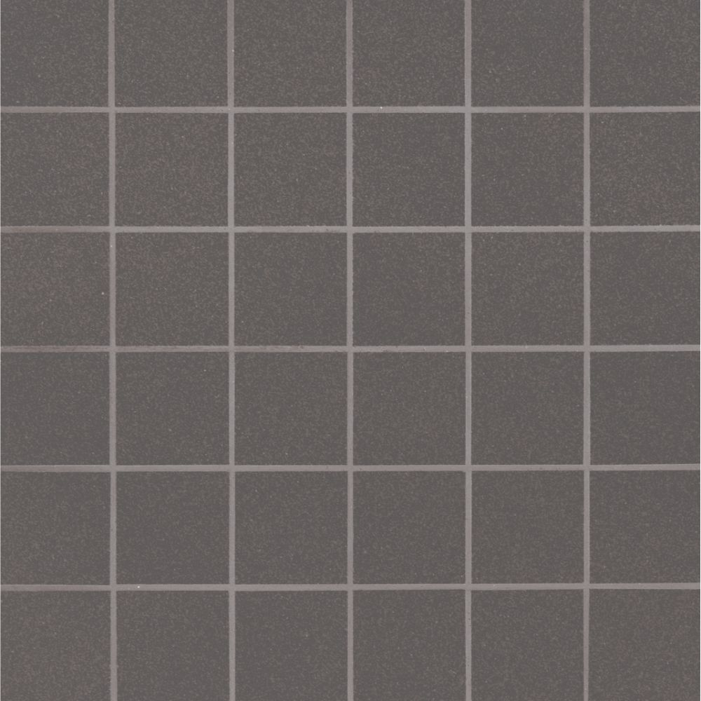 Optima Graphite 2X2 Polished Ceramic Mosaic
