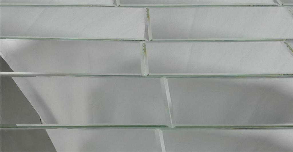 Reflections 12x24 Silver Glossy Mirror Field Tile