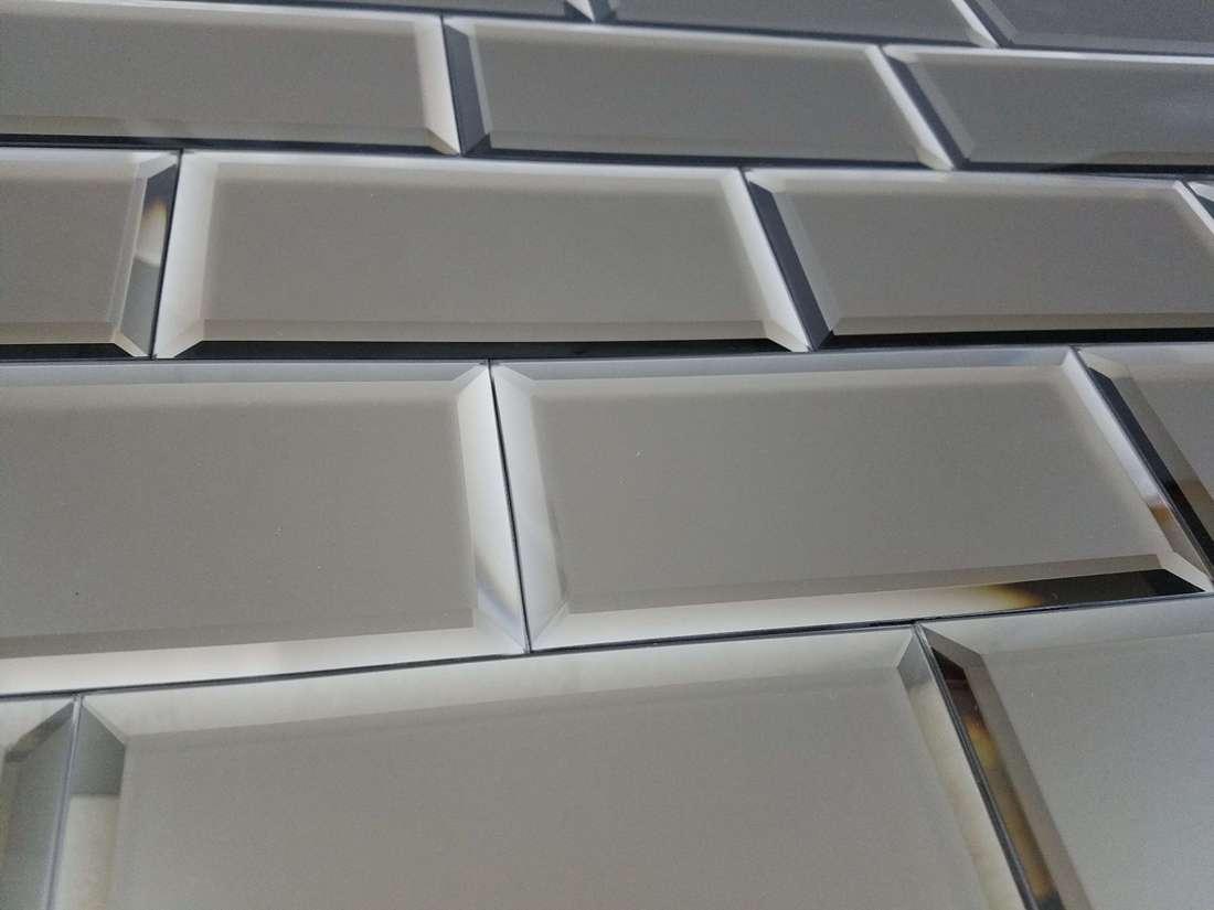 Reflections Gold 3X6 Matte Glass Tile