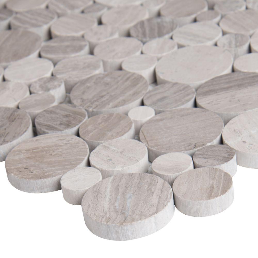 Rio Lago Serenity Polished Rounded Pebble Tile
