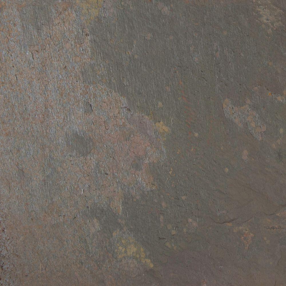 Rustic Gold Classic 12x12 Gauged Slate Tile