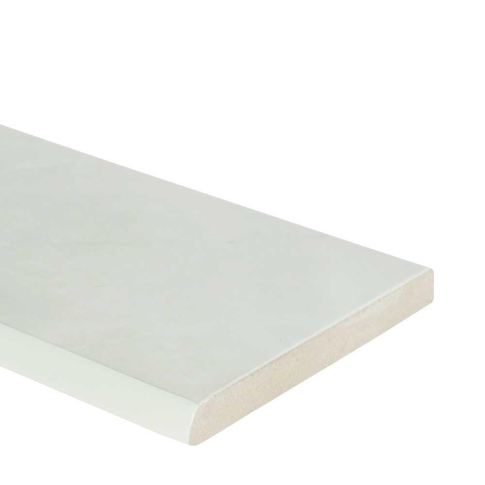 Sande Ivory 3X18 Matte Bullnose Porcelain Tile