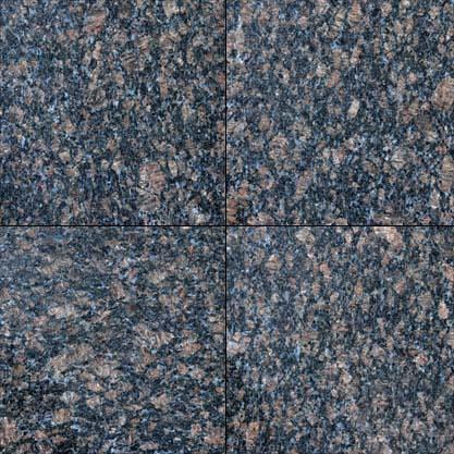 Sapphire Blue Polished 12x12 Granite Tile