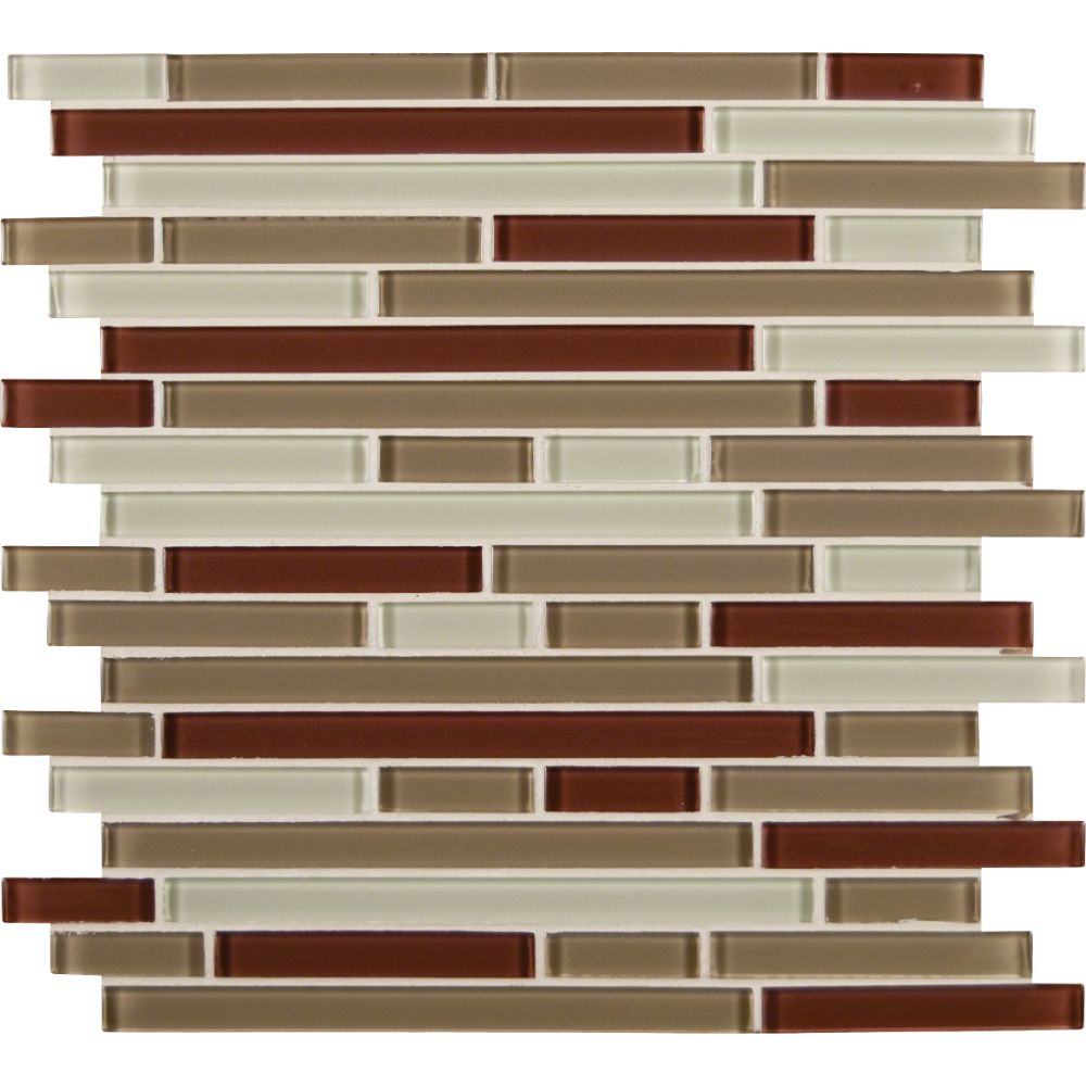 Sedona Blend Interlocking 8MM Mosaic
