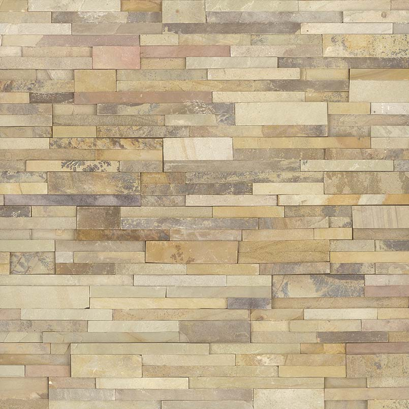 Sedona Fossil 6X6 Split Face Corner Ledger Panel