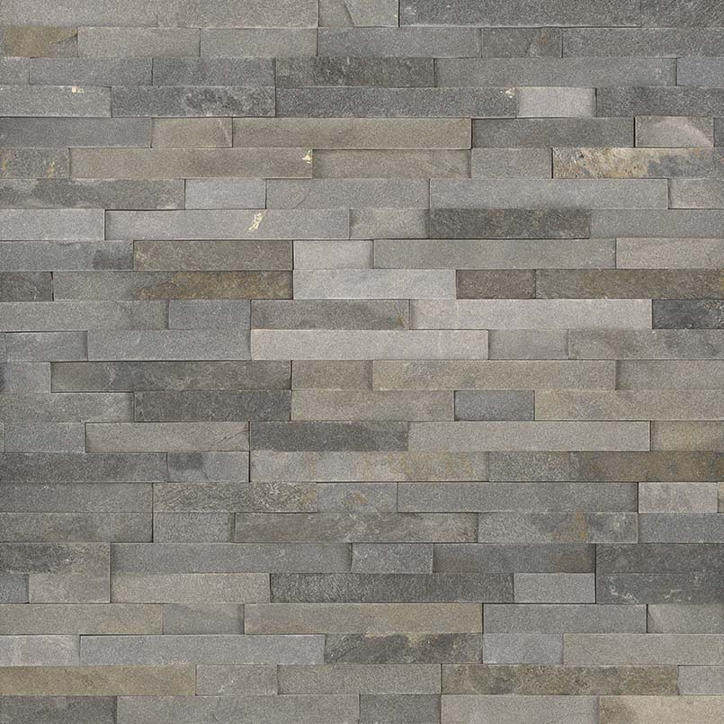 Sedona Grey 6X6 Split Face Corner Ledger Panel