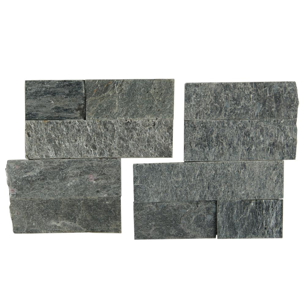 Sedona Platinum 6X6 Split Face Corner Ledger Panel