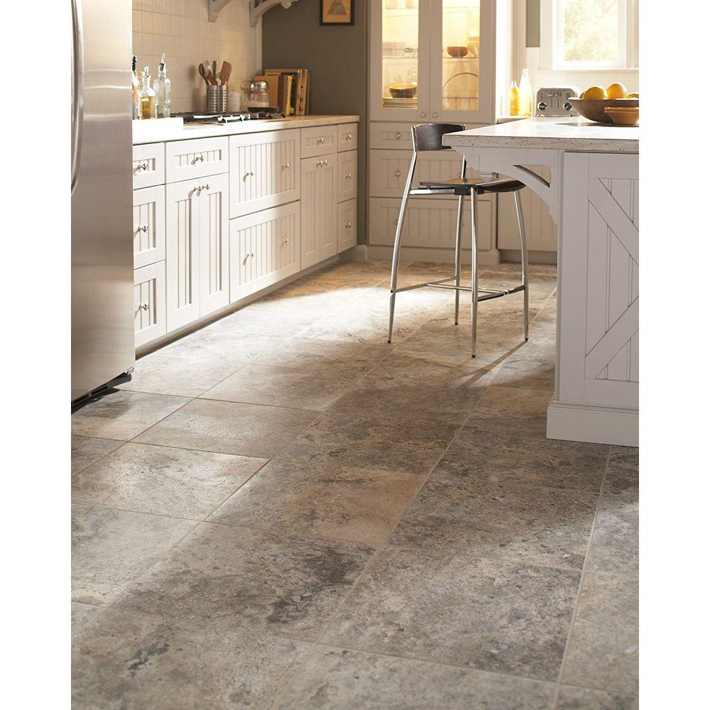 Silver Travertine 18X18 Honed / Filled Travertine Tile