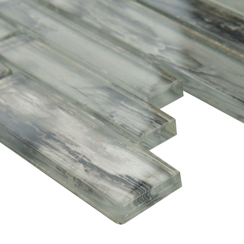 Silvermist Interlocking 12X12 Matte