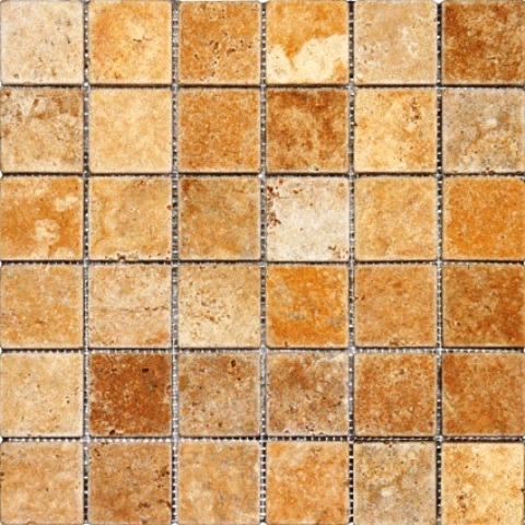 Tuscany Gold 2x2 Tumbled
