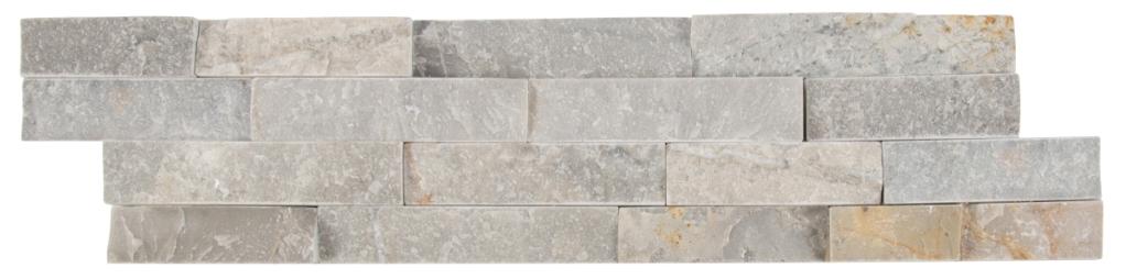 Sunset Silver 6X24 Split Face Ledger Panel
