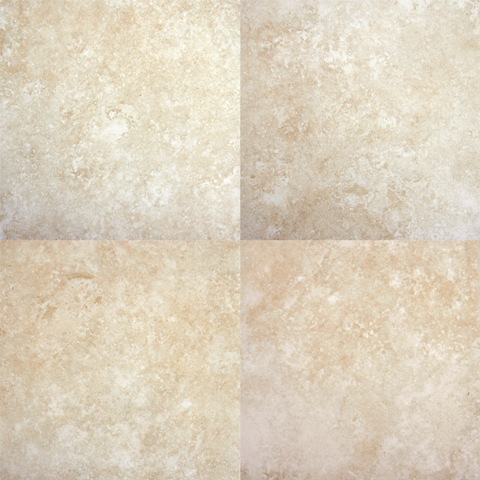 Travertino Beige 6X6 Matte