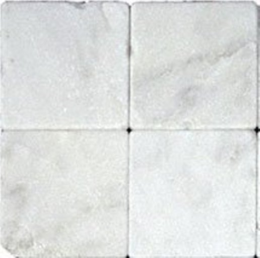 Arabescato Carrara Tumbled 4x4