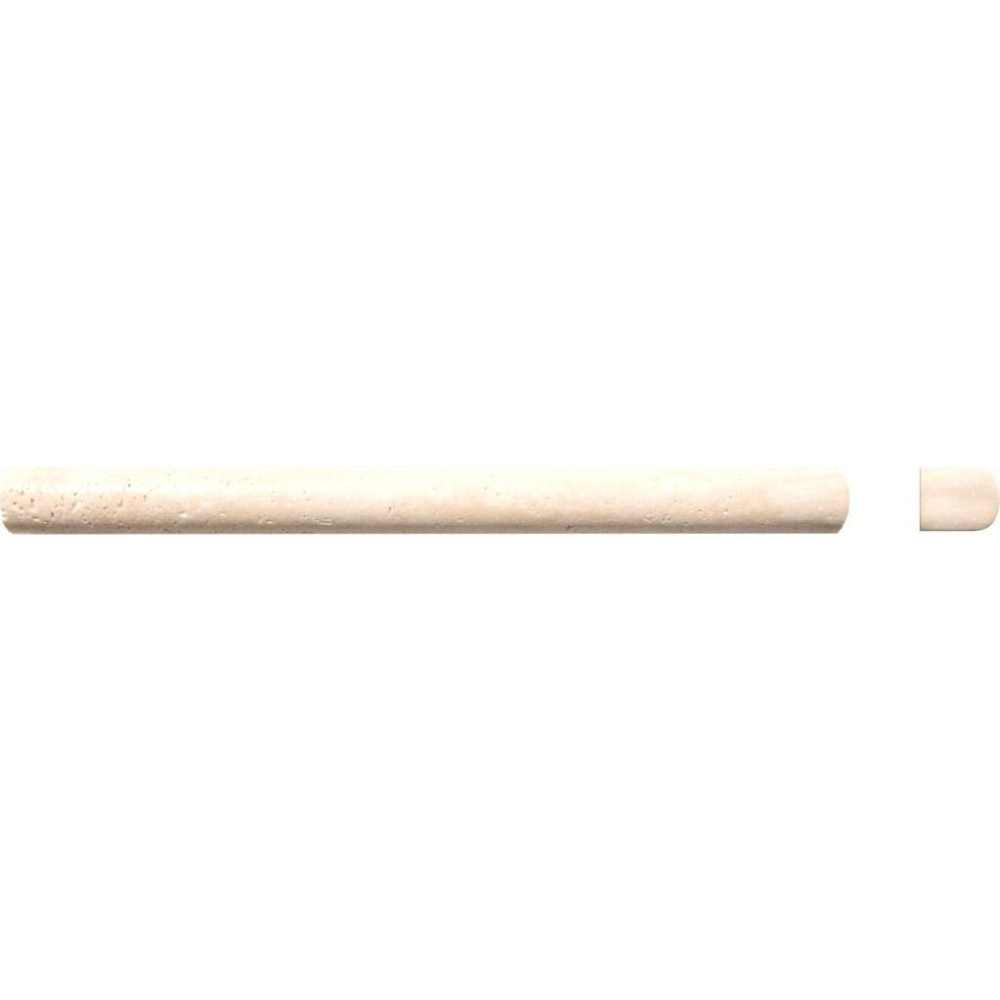 Tuscany Classic 3/4X3/4X12 Honed Pencil Molding