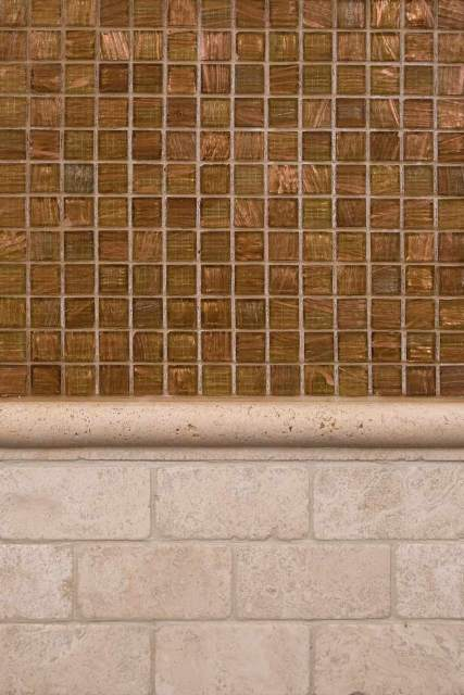 Tuscany Classic 1X3 Brick Tumbled Travertine Mosaic