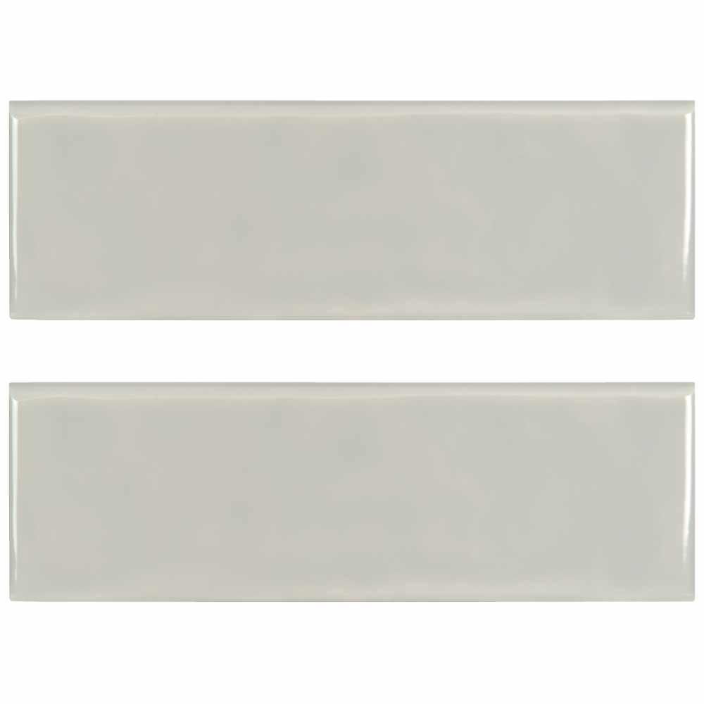 Urbano Dusk 4X12 Glossy Ceramic Bullnose Tile