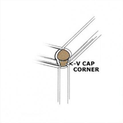 Toscana Canyon VCap Corner 1x3 Matte
