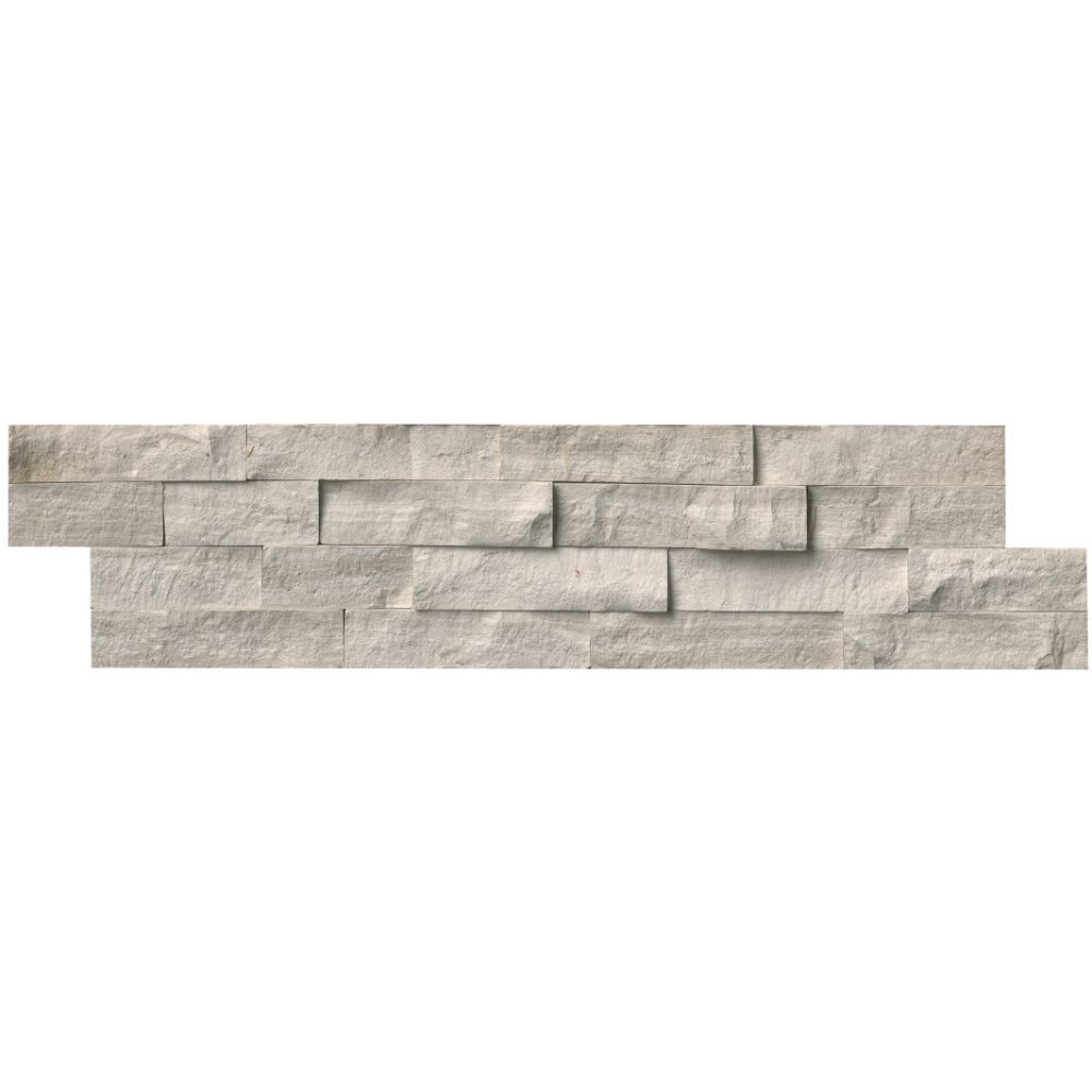 White Oak 6x24 Split Face Ledger Panel Backsplash Tile Usa