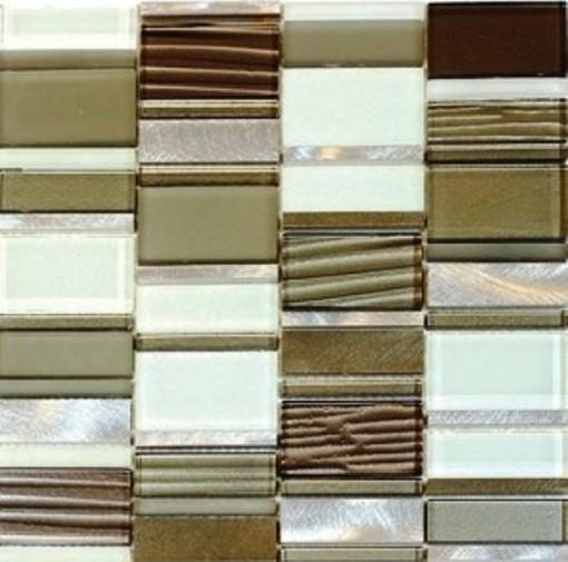White Patch 12x12 Block Stack Blend Mosiac