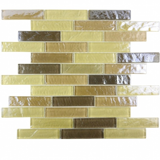 Geo Collection 1x4 Pupukea Tile Wide Linear