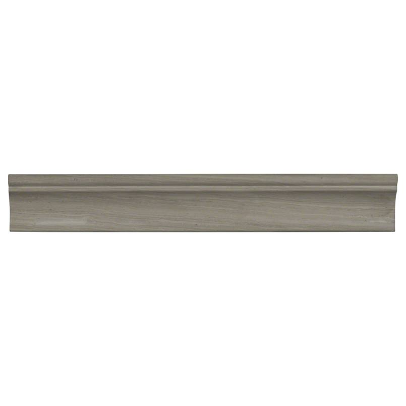 Wooden White 2x12 Honed Cornice Molding